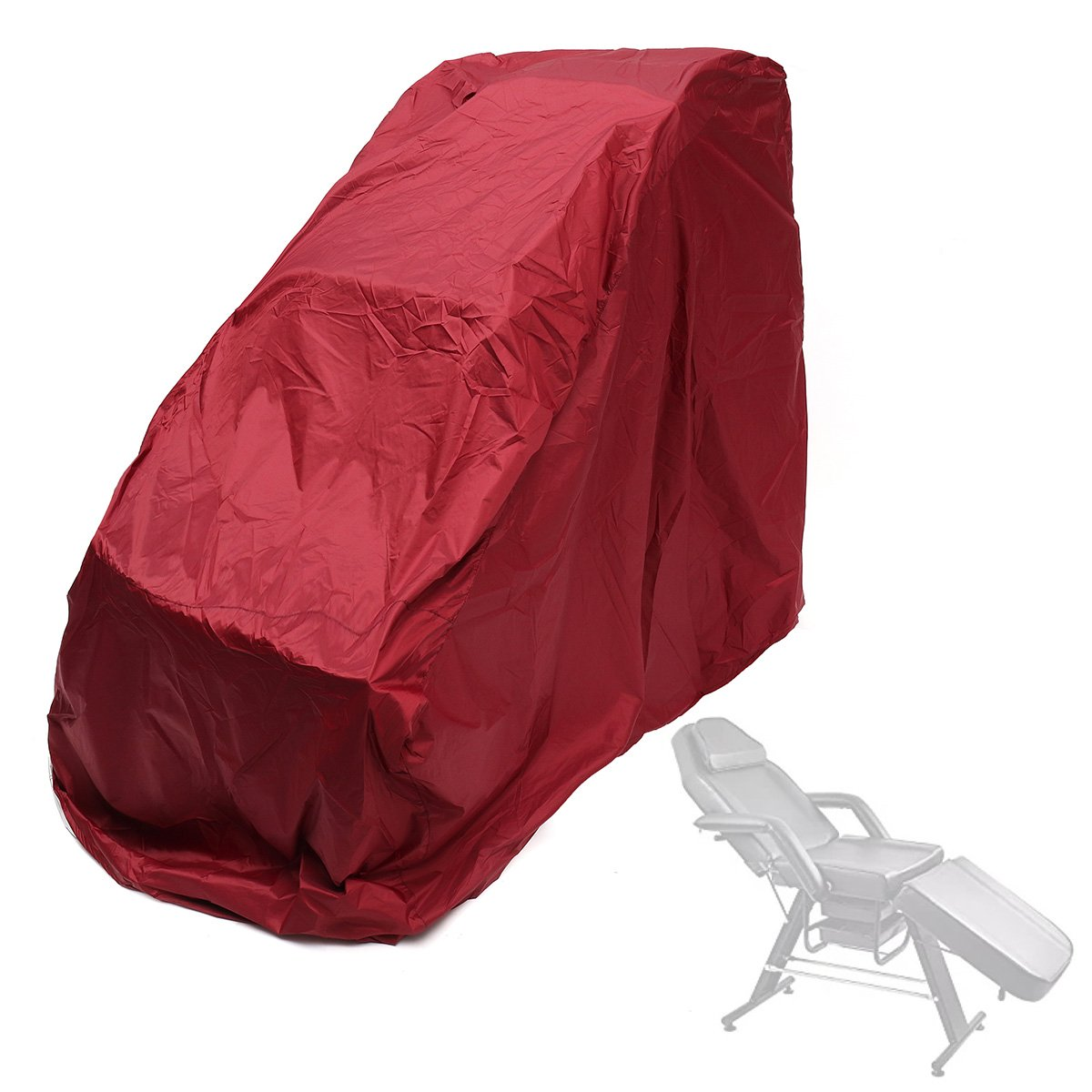 GUQQRZCT マッサージチェア保護カバーユニバーサルジッパーケースフルボディスタイルカバー (Color : ColorWine red) B07RY4XVTQ ColorWine red