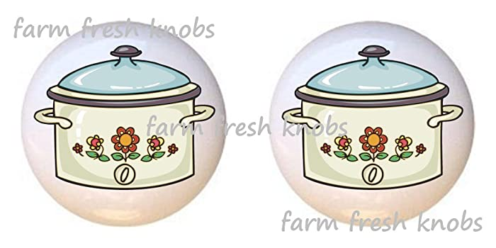 Amazon Com Set Of 2 Knobs Crock Pot Slow Cooker Kitchen By