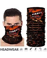 Face Shield - TEFITI Versatile Sports Face Mask - Casual Balaclava Headbands - Stretchable Bandana Neck Gaiter
