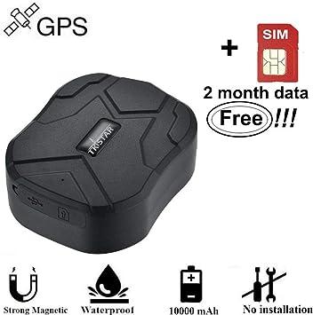 Tiempo Real Portátil Localizador GPS, Incluye Tarjeta SIM con Plan ...