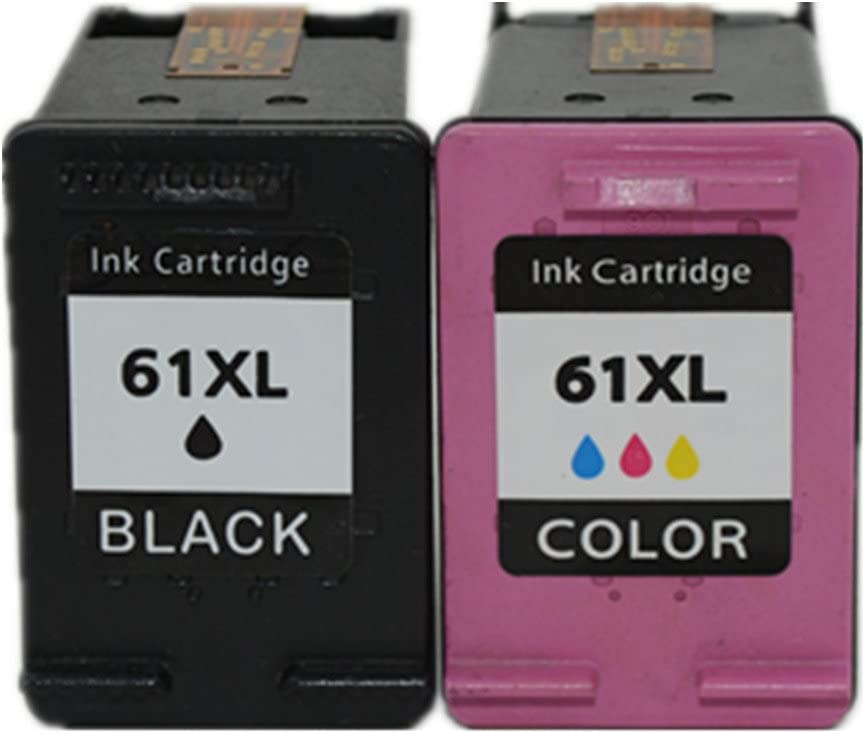 Hisaint For HP 934XL 935XL Ink Cartridge Replacement for HP 61XL ( Black,Cyan,Magenta,Yellow , 2-Pack )