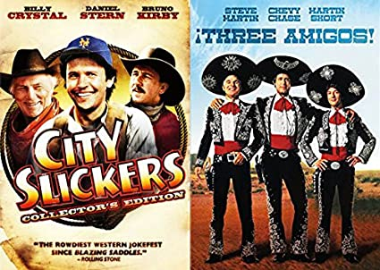 The Western Comedy 2-Funny Pack - City Slickers & Three Amigos ...