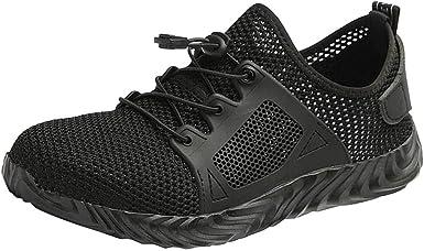 Men Women Unisex Steel Toe Shoes Non