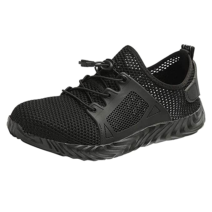 femmes hommes Black White Work Walking chaussures Trainers Fonctionnement Gym Sneakers Size