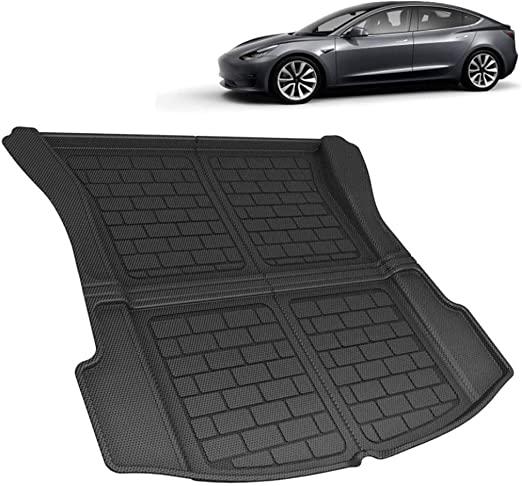 Auto Rear Trunk Accessories Non-Slip Waterproof Back Seat Cover Boot Liner Tray Mat Car Boot Liner for Tesla Model S