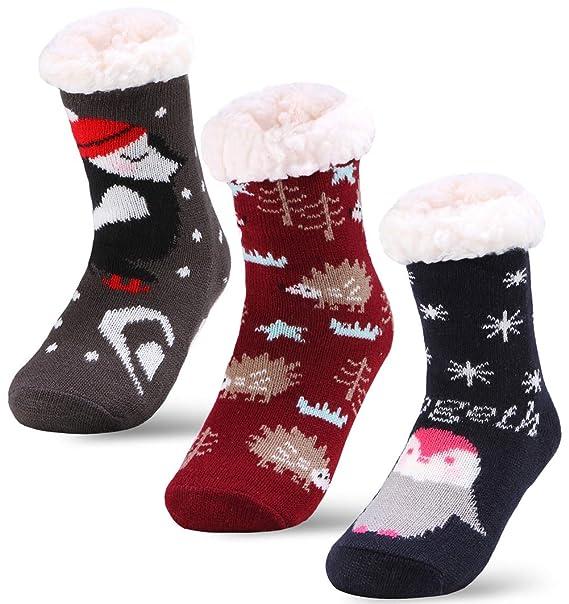 Amazon.com: 3 pares de calcetines para bebé y niña: Clothing