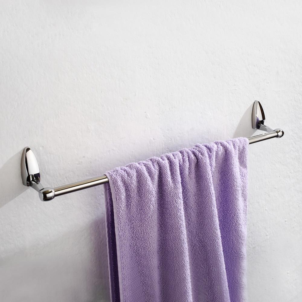 well-wreapped KHSKX Stainless steel single lever, long towel bar, toilet, oxidation bath towel rail , 60cm