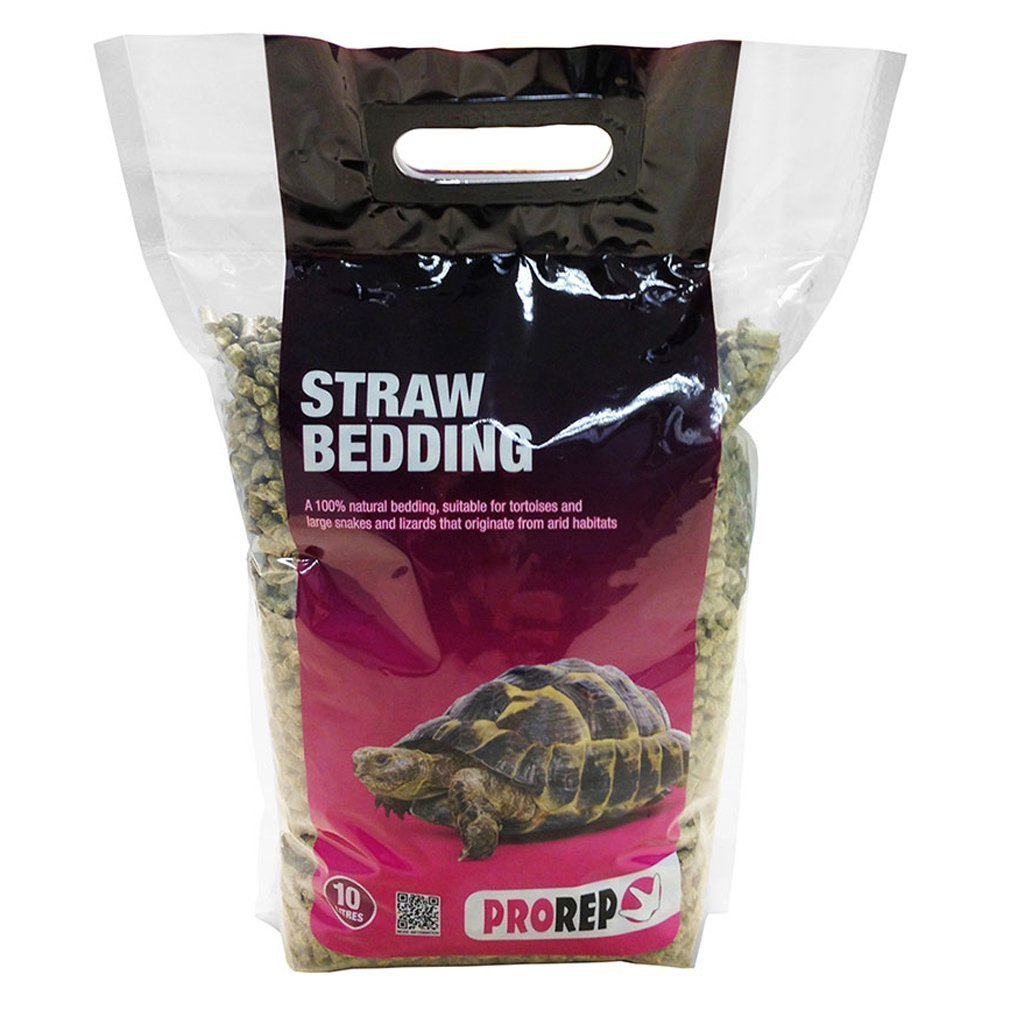 (2 Pack) Prorep - Straw Bedding 10L