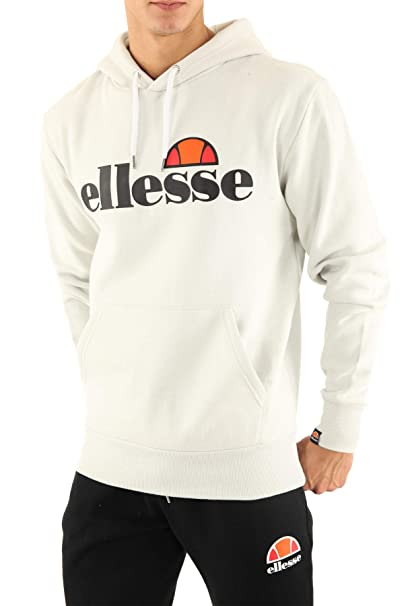 ellesse Gottero OH Hoody in Light Grey: Amazon.co.uk: Clothing