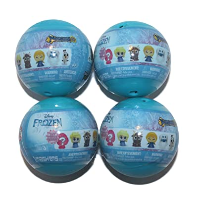 Mashems Disney Frozen Series 3 ( 4 Sphere Pack): Toys & Games