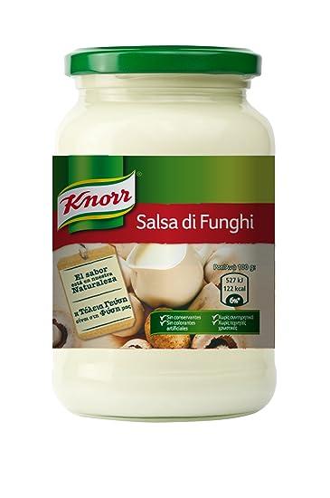 Knorr - Salsa Crema Di Funghi, 400 gr - [Pack de 3]