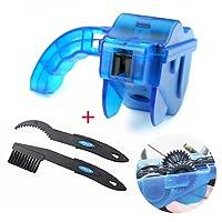 Fahrrad Kettenreinigungsgerät, Aodoor Bike Bicycle Chain und Zahnkranz Cleaner Gang Reinigung Scrubber Pinsel-Werkzeug - Blau