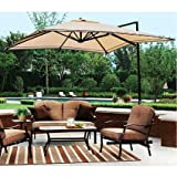 Garden Winds Sand Dune Off Set Umbrella Replacement Canopy Review
