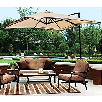 Garden Winds Sand Dune Off Set Umbrella Replacement Canopy