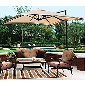 garden winds sand dune off set umbrella replacement canopy - Outdoor Canopies