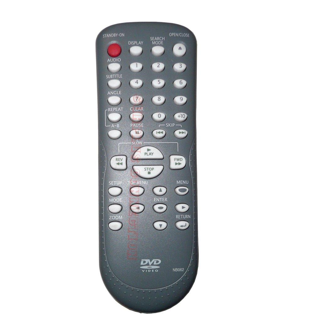 Magnavox MWD200F Symphonic RSMWD200F DVD Player Remote Control NB062UD NB062