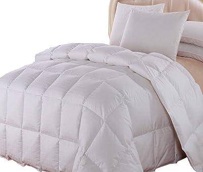 Royal Hotel Dobby Down Comforter 650-FILL-POWER Down-Fill