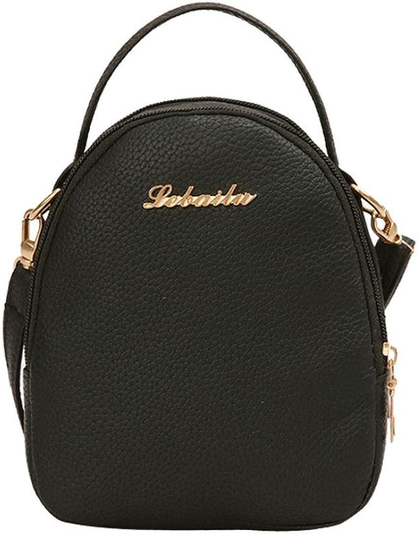 Lavany Womens Shoulder Bag PU Leather Messenger Bag Top Handle Handbag For Women