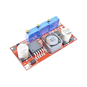 LM2596 DC-DC Step-down Adjustable CC//CV Power Supply Module Converter LED`DFBES