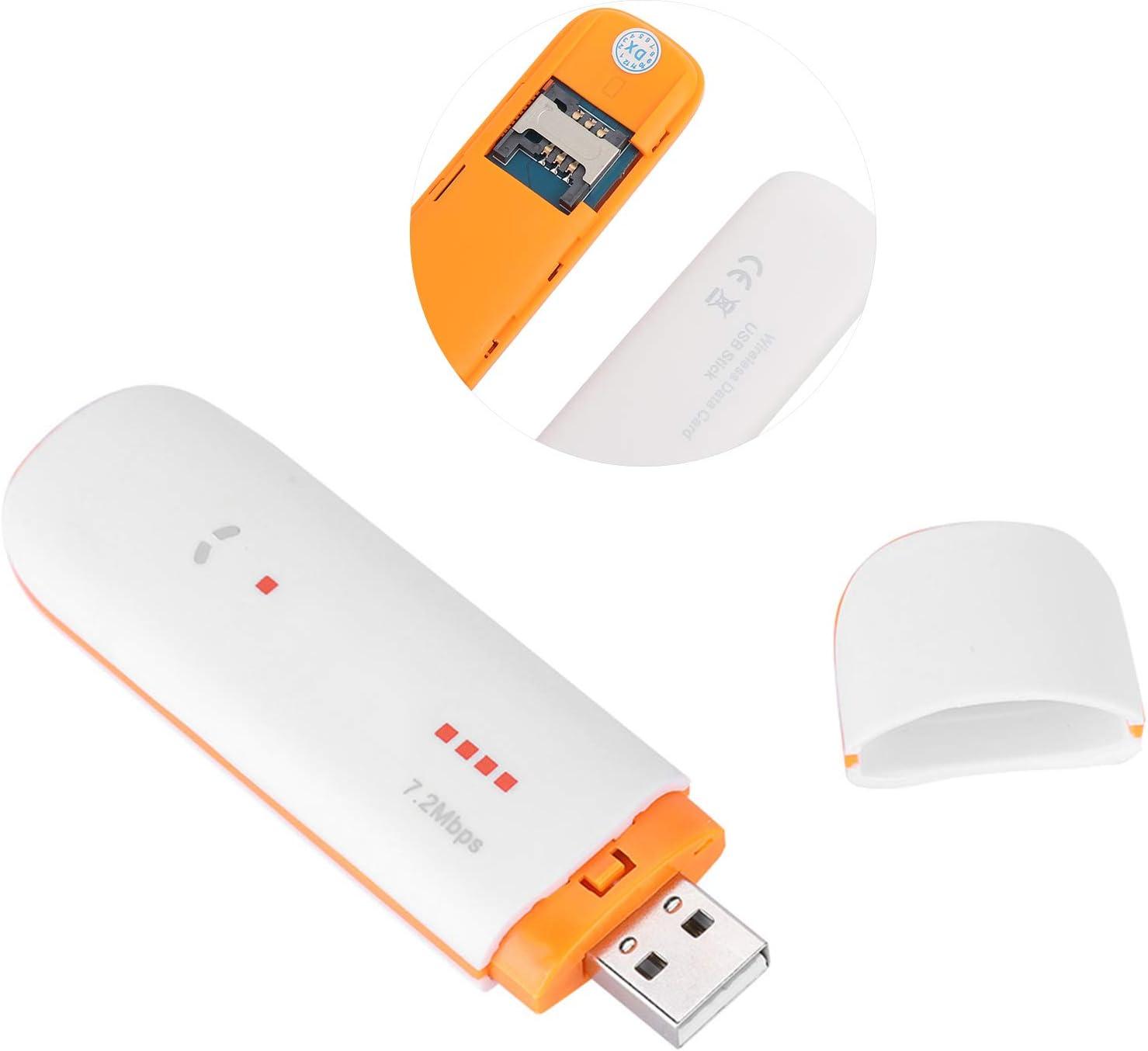 Dongle USB, Tarjeta de Red 3G SIM Dongle USB Módem 4G LTE para Windows 2000/2003/XP/vista/7/8/10/MAC/Linux/Android.
