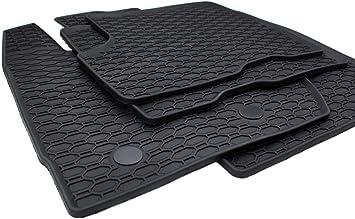 Kfzpremiumteile24 Gummimatten Kompatibel Mit Duster 2010 2018 Premium Qualität Fußmatten Gummi Schwarz 4 Teilig Auto