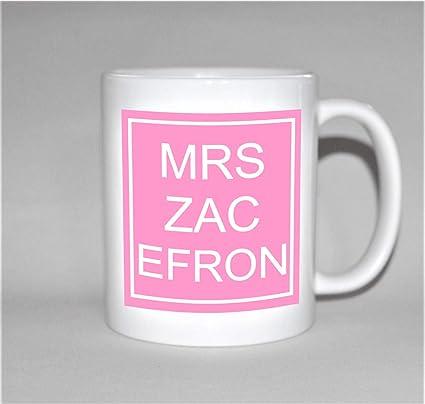 Amazon MRS ZAC EFRON Mug Gift For Her Birthday