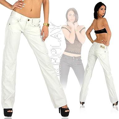 klar und unverwechselbar Suche nach Beamten Beste Replay Chino Damen Jeans Hose WV531 .000 8608.825 weiß ...