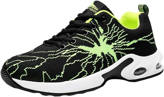 Zapatillas De Deporte Unisex Adulto Antideslizante De Fondo Grueso Resistente Al Desgaste, Zapatillas Basket Casuales Amortiguadores Ligero Caminar Outdoor Calzado: Amazon.es: Zapatos y complementos