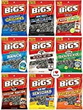 sweet spicy sunflower seeds - Bigs Sunflower Seed Flavor Variety Pack 9 bags (5.35oz each) with Bonus Magnet