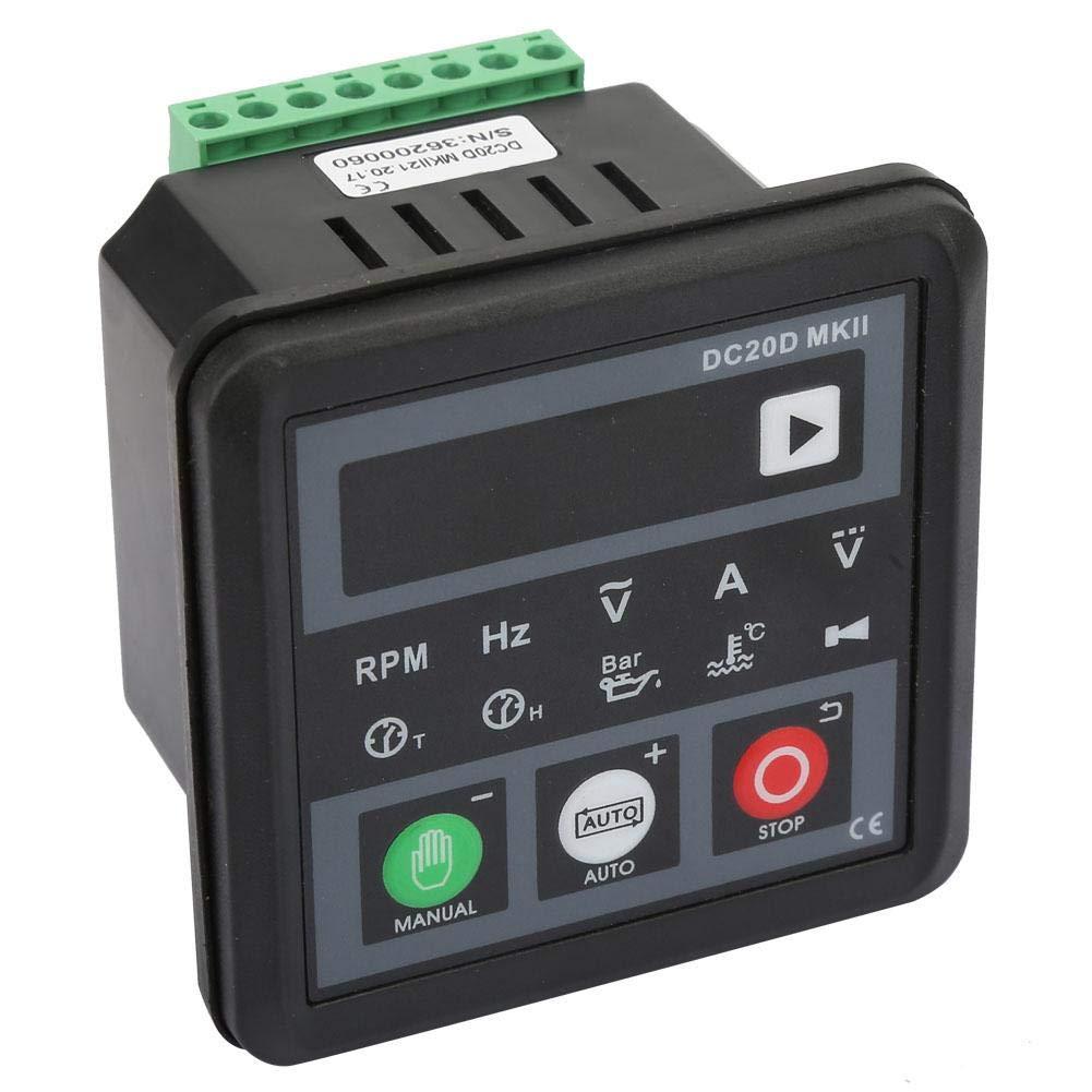 Generator Controller Module DC20D Electronic Generator Controller Panel for Diesel Engine or Generator
