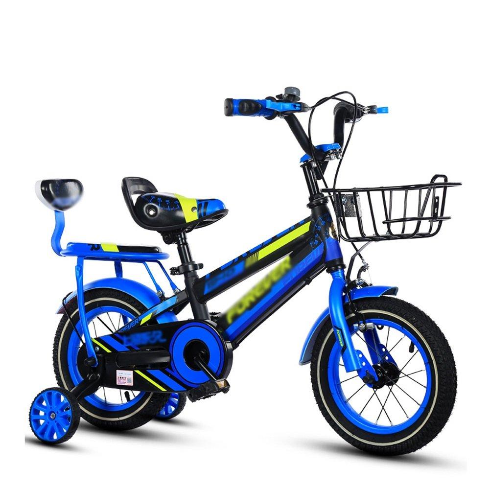 Kids 'Bikes 12 14 16 18インチガールズバイクブルーイエロー&レッドバックペダルブレーキ付き B07DTZX3X2 12 inch|イエロー いえろ゜ イエロー いえろ゜ 12 inch