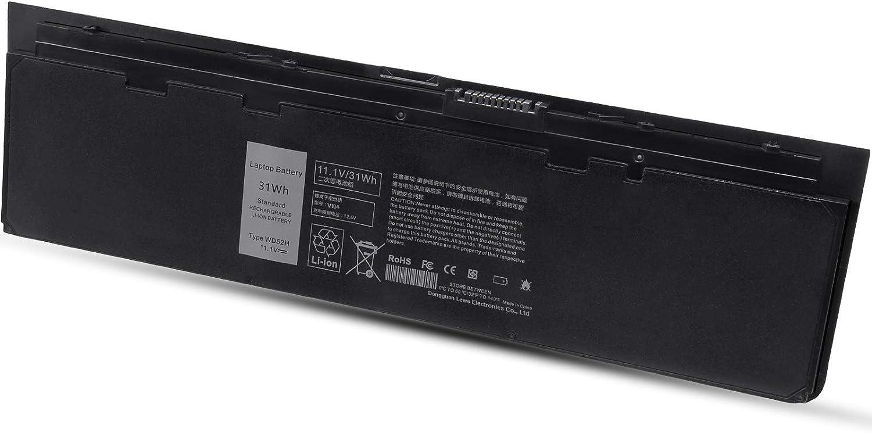 Laptop Battery for Dell Latitude Notebook Ultrabook E7240 E7250, Compatible Battry Type VFV59 HJ8KP F3G33 GD076 J31N7 0KKHY1 0KWFFN 0VFV59 0WG6RP W57CV J31N7 WD52H