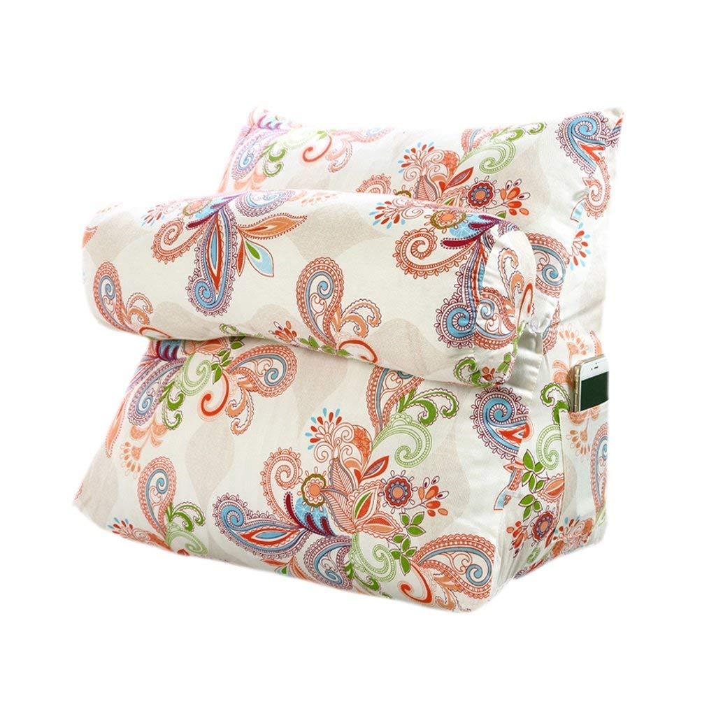 WCH ファッション枕ベッドサイドソファオフィシャルコットン保護ウエスト保護ネッククッション (Color : C) B07RL6ZQJJ C
