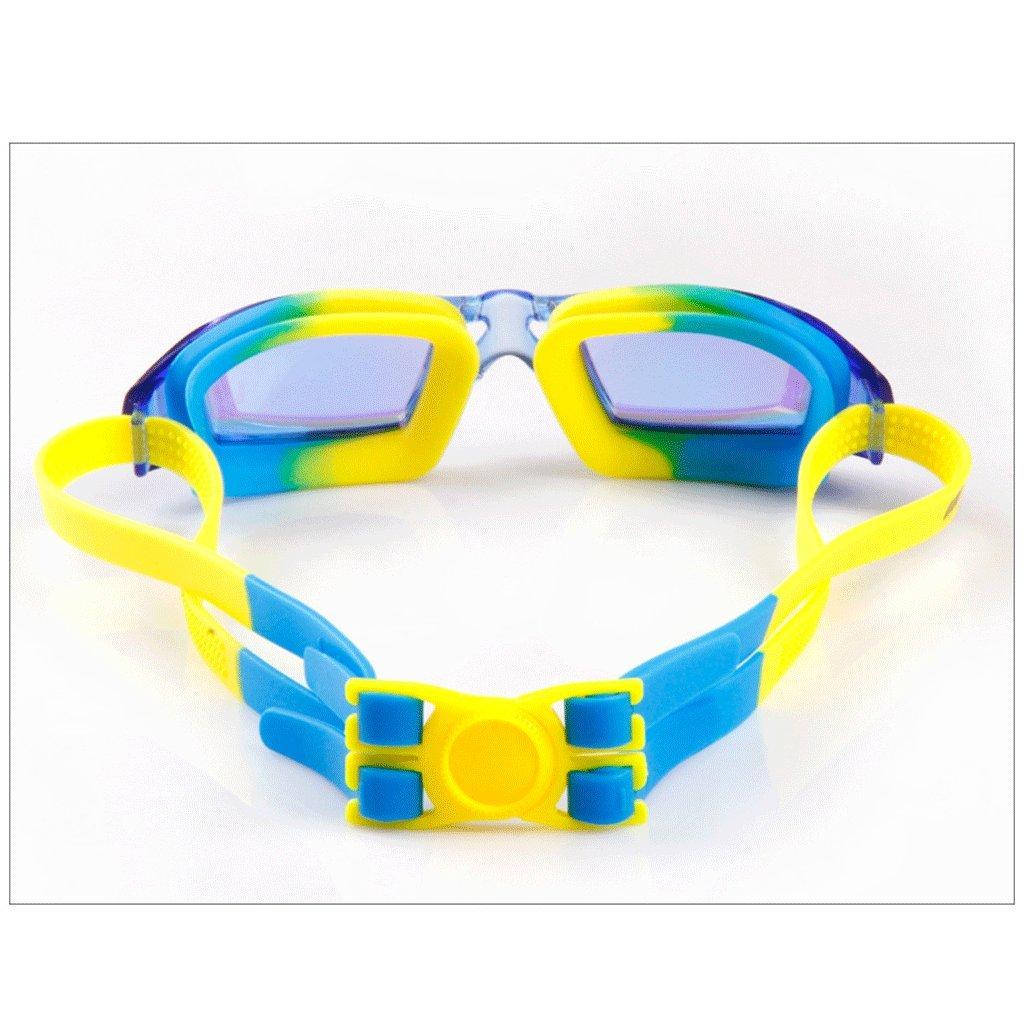 Schwimmbrille LCSHAN Goggles Jungen Mädchen Goggles Transparente Bunte Bunte Bunte Goggles Baby Nebel Wasserdichte (Farbe   Blau) B07DNPFQF3 Schwimmbrillen Tadellos 7fa146