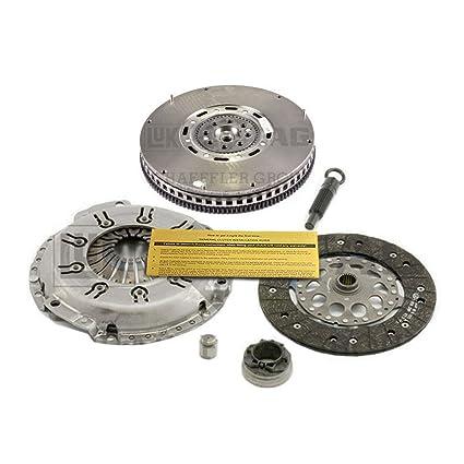 Amazon.com: LUK CLUTCH KIT REPSET & DMF FLYWHEEL 97-01 AUDI A4 97-98 A6 99-05 VW PASSAT 2.8L: Automotive