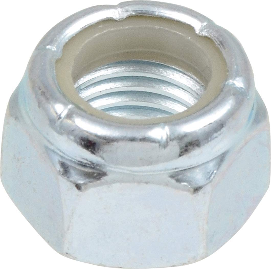 The Hillman Group 180159 1//2-Inch x 13-Inch Nylon Insert Lock Nut 50-Pack