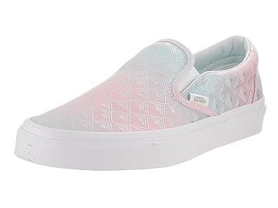 e8c488c573 Image Unavailable. Image not available for. Color  Vans Unisex Classic  Slip-On (Rainbow Geo) Skate Shoe