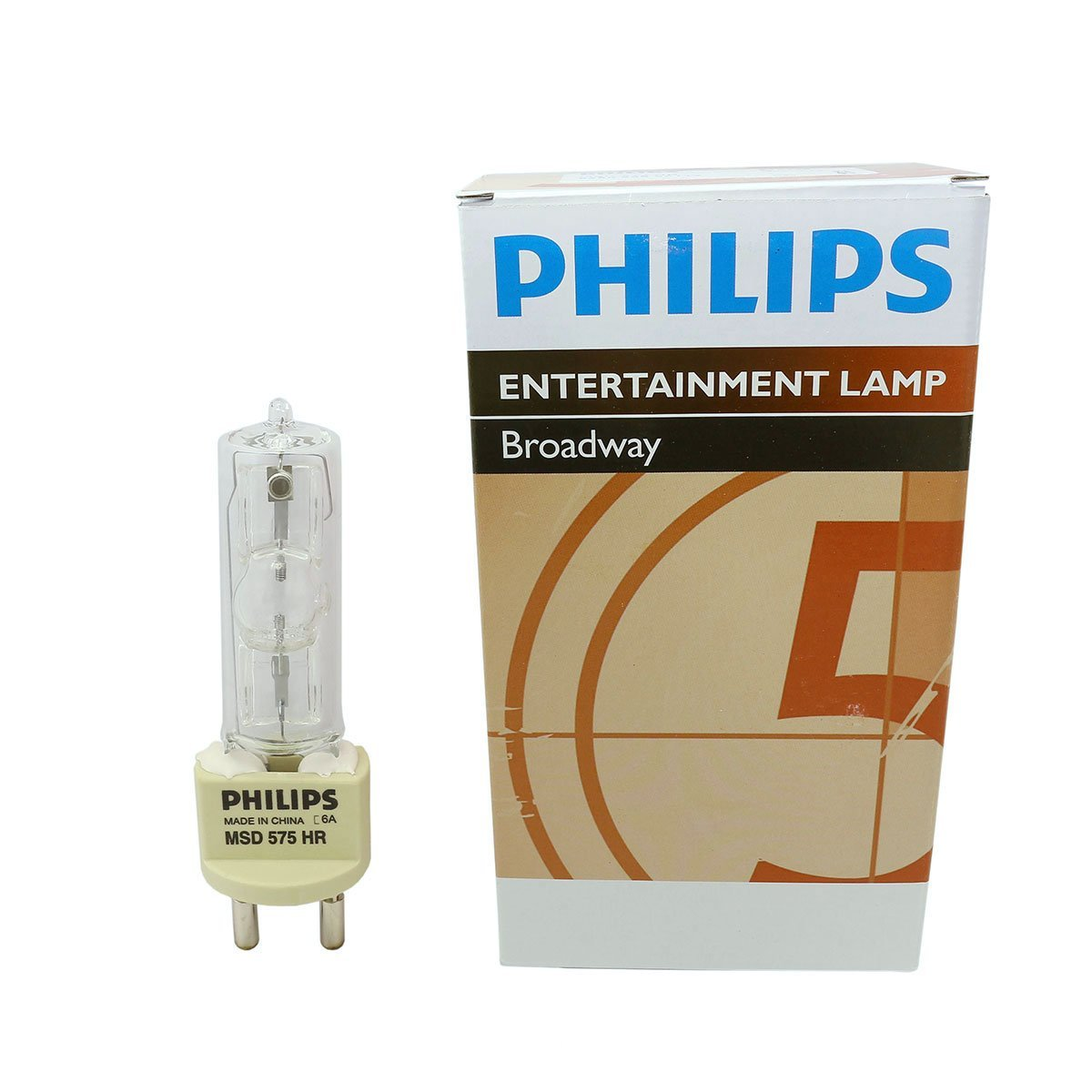 Philips MSD 575W HR AC Lamp for Architainment Lighting