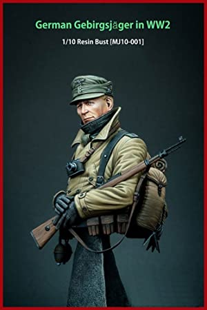 Reich Model WWii WW2 German 1/10 Cognis ace Sniper Resin