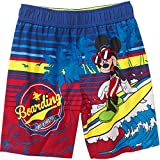 Toddler Boys Mickey Mouse Swim Short Trunk - 4T