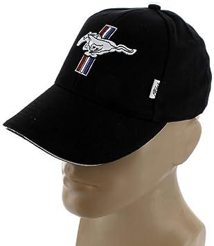 95e954465 Ford Mustang GT Black Baseball Cap Trucker Hat Snapback 5.0 Liter Cobra  Shelby