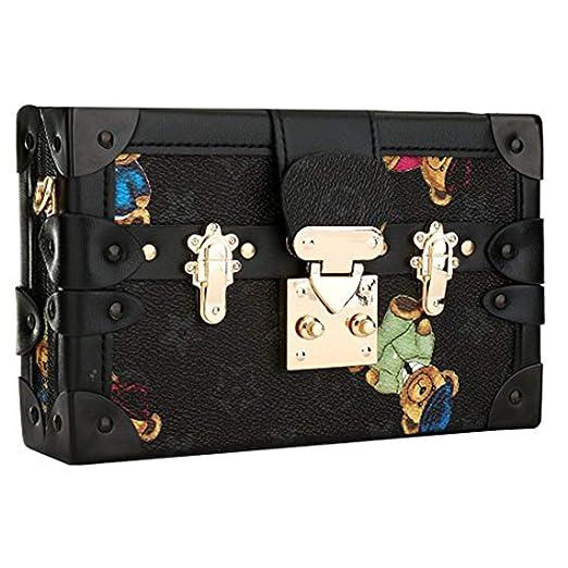 a0869973d87 Designer Crossbody Bag for Women Fashion Bear Evening Clutch Purse Shoulder  Handbags