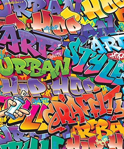Walltastic WT42827 Graffiti Wall Mural