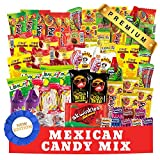 Mexican Candy Assortment Snacks (84 Count), Variety Of Spicy, Sweet, Sour Bulk Candies Dulces Mexicanos, Includes Lucas Candy, Pelon, Vero Lollipop, Pulparindo Makes A Great Gift by Ole Rico