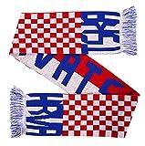 Hrvatska Croatia Soccer Knit Scarf