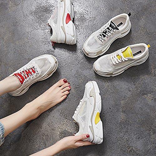 NGRDX&G Sportschuhe Weibliche Net Dicke Untere Laufluft-Atmungsaktive Net Weibliche Schuhe Schuhe Weiblich 97741a