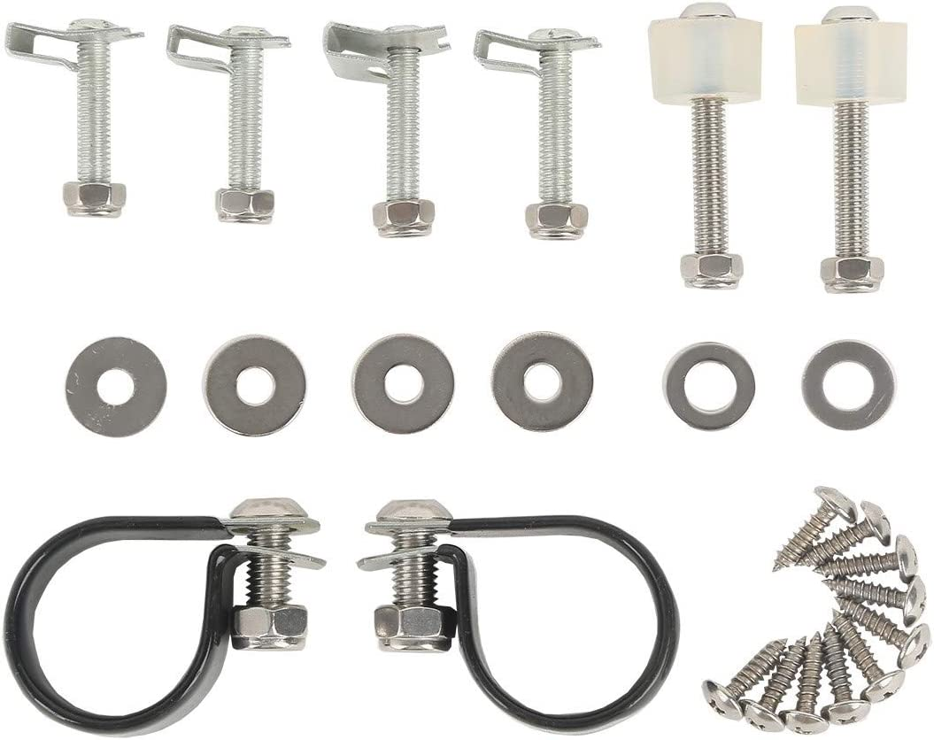 Motorcycle Lower Vented Fairing Mounting Hardware Screw Clamps Set Fits For Harley Touring 1983 、 1984-2013