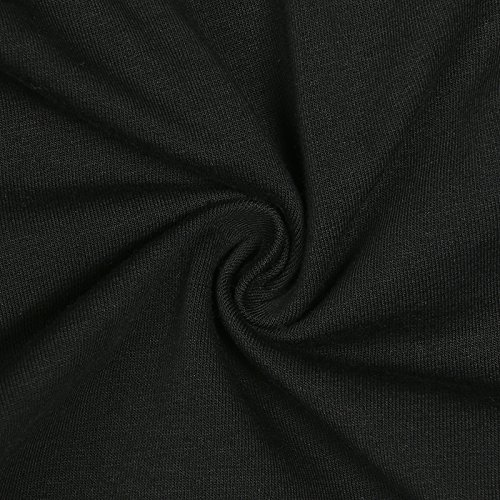 Leezeshaw Mujeres Elastico Cintura Yoga Corriendo Entrenamiento Cortocircuitos Deportivo Salon Cortocircuitos Black