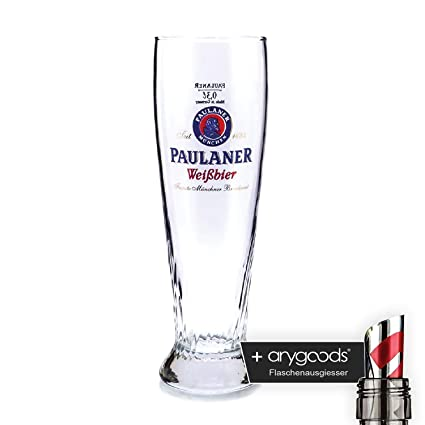 Paulaner 0,3l Cristal/vasos, marca Cristal, hermoso mar, cerveza cristal