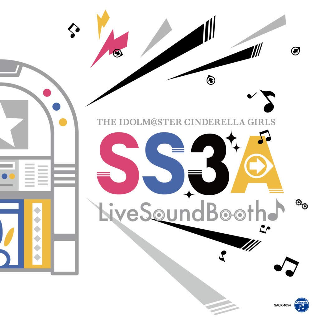 THE IDOLM@STER CINDERELLA GIRLS SS3A Live Sound Booth 会場限定CD   B07PS97JFK